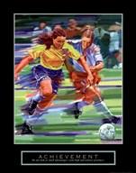 Achievement - Soccer  Fine Art Print