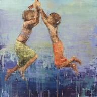 Rope Swing No. 2  Fine Art Print