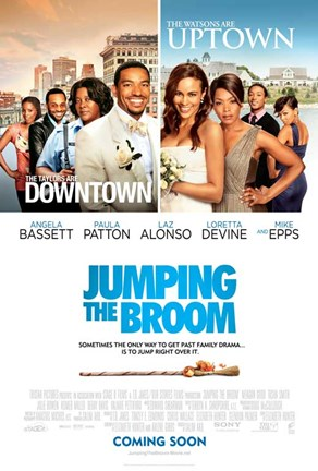 Framed Jumping the Broom Print