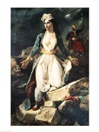 Greece expiring on the Ruins of Missolonghi, 1826  Fine Art Print