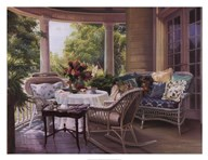Summer Porch  Fine Art Print