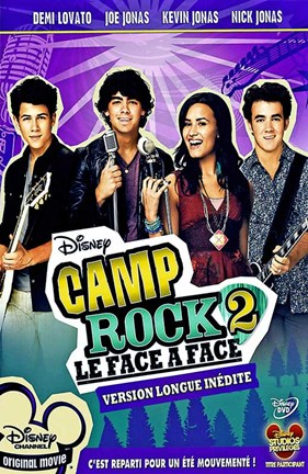 Framed Camp Rock 2: The Final Jam (French) Print