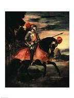 The Emperor Charles V  Fine Art Print