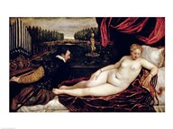 Venus and the Organist  Fine Art Print