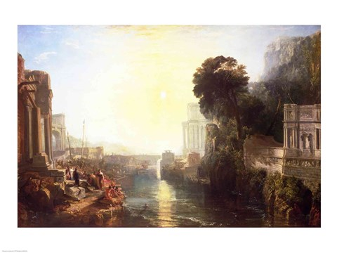 Dido Building Carthage Fine Art Print By J M W Turner At