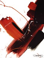 Abstract Merlot Art