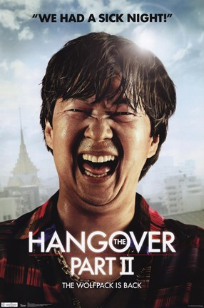 Framed Hangover 2 - Mr. Chow Print