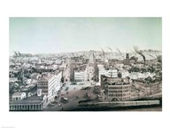 View of Utica City, New York State  Fine Art Print