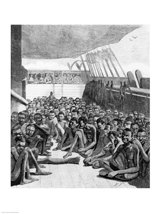 The Slave Deck Fine Art Print By Unknown At Fulcrumgallery Com