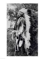 White Wolf, a Comanche Chief  Fine Art Print