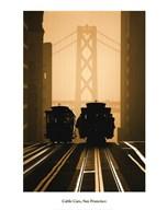 Cable Cars, San Francisco  Fine Art Print