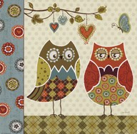Owl Wonderful I Art