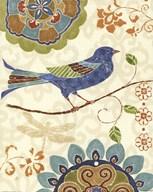 Eastern Tales Birds I  Fine Art Print