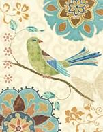 Eastern Tales Birds II  Fine Art Print