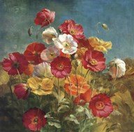Poppies in the Field  Fine Art Print