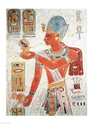 Ramesses Ii Dressed For War Fine Art Print By Unknown At