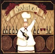 Salute Chef  Fine Art Print