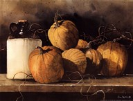 Jugs and Pumpkins  Fine Art Print