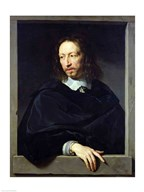Portrait of a Gentleman, known as Arnaud d'Andilly  Fine Art Print