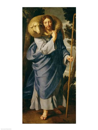 The Good Shepherd Fine Art Print By Philippe De Champaigne