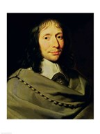 Blaise Pascal  Fine Art Print