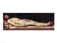 The Shroud of St. Veronica  Fine Art Print