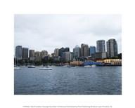 North Sydney Cityscape Australia  Fine Art Print