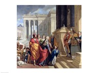 Presentation of the Virgin in the Temple  Fine Art Print