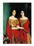 The Two Sisters  Fine Art Print