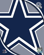 Dallas Cowboys 2011 Logo  Fine Art Print
