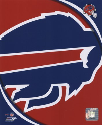 Framed Buffalo Bills 2011 Logo Print