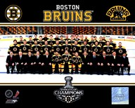 The Boston Bruins 2010-11 Team Photo Art