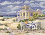 Beach Cruiser Cottage II Art