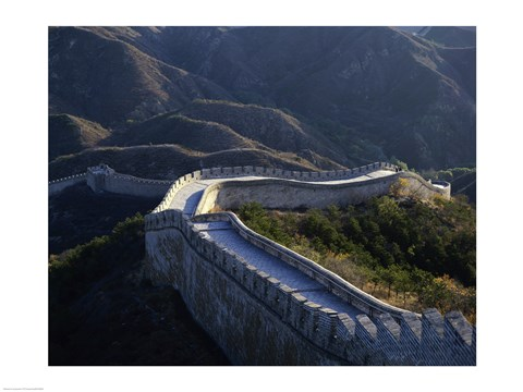Framed Great Wall of China Print