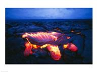 Kilauea Volcano Hawaii Volcanoes National Park Hawaii USA  Fine Art Print