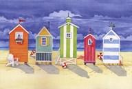 Brighton Huts  Fine Art Print