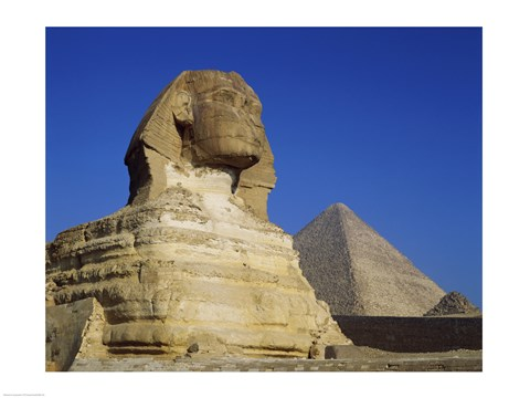 Framed Great Sphinx, Giza, Egypt Print