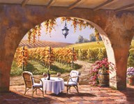 Vineyard for Two Art