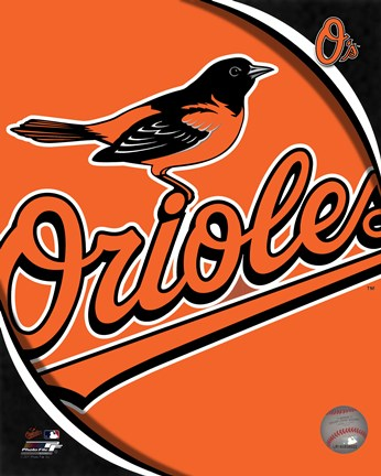 Framed 2011 Baltimore Orioles Team Logo Print