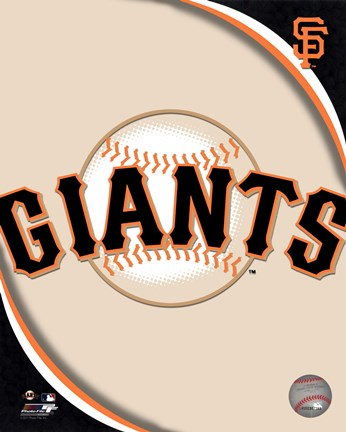 Framed 2011 San Francisco Giants Team Logo Print