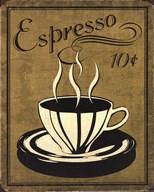 Retro Coffee II  Fine Art Print
