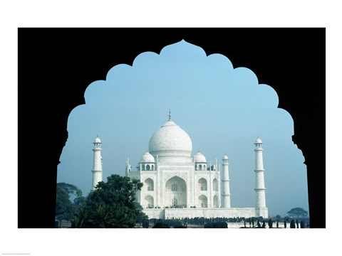 Framed Taj Mahal Agra India Print