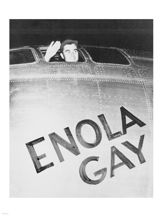 Framed Tibbets Enola Gay Print
