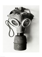 Close-up of a Gas Mask  Fine Art Print
