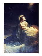 Christ in the Garden of Gethsemane Heinrich Hoffmann (1824-1911 German)  Fine Art Print