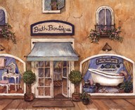 Bath Boutique  Fine Art Print