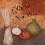 Pasta Pomodoro Art