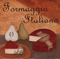 Formaggio Italiano  Fine Art Print