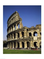 Low angle view of a coliseum, Colosseum, Rome, Italy Art