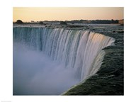High angle view of a waterfall, Niagara Falls, Ontario, Canada Art